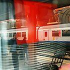 The Train Station by nadinecreates