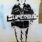 Superbad graffiti by Roxy J