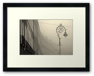 Foggy Harcourt Street by Esther  Moliné