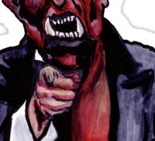 Uncle Satan Sticker