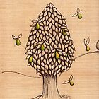 Wings on Pears Tree (Sold on Ebay) by Donna Huntriss