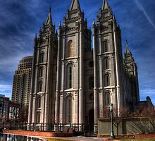 Salt Lake Temple by Alisdair Gurney