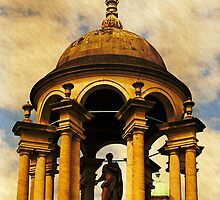 Queen's College, Oxford.  The Cupola by buttonpresser