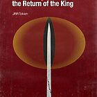 &quot;The Return of the King&quot; - minimalist poster design by J PH