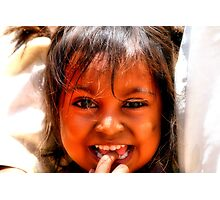 Ashna smiles Photographic Print