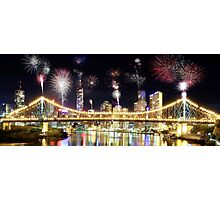 Brisbane Night Show Photographic Print