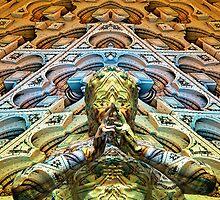 Stone Tempe Buddha by Desirée Glanville