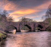 Derwent Bridge, Willersley Castle, Cromford by Mark Fountain