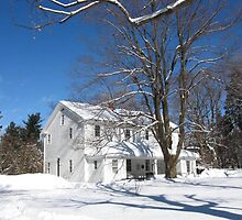 Quaker Meeting House, Orchard Park, NY by artwhiz47