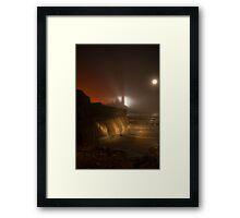An Evening at Reculver, Kent, England Framed Print