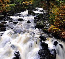 Falls of Braan by GillBell