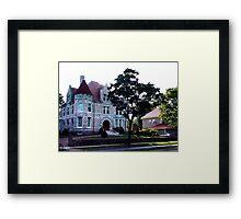 Oland Castle, Halifax Framed Print