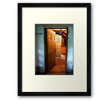 Sturgis Library Attic Framed Print