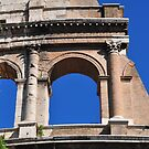 A Piece of the Rome Coliseum by April Anderson