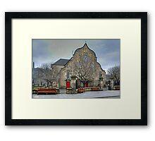 The Canongate Kirk Framed Print