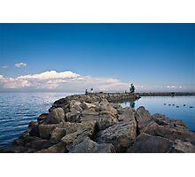 Jordan Harbour Breakwater Photographic Print