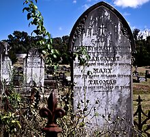 Yack Cemetery by Jane Keats