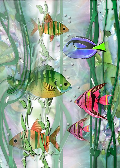 Plenty of fish in the sea by robin pushe 39 e redbubble for How does plenty of fish work