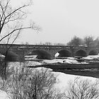 Wintery Bridges of the Ottawa Valley by Josef Pittner