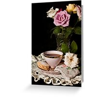 Still Life with Melting Moment Greeting Card