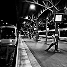 London Marylebone Station, Black And White by olliema