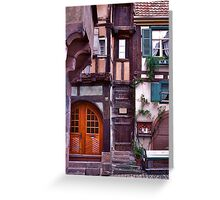 Doors and Windows Greeting Card
