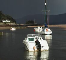 The Calm before the Storm -  Barmouth North Wales. UK by AnnDixon