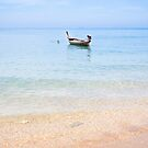 Fishing Boat on Ko Lanta, Thailand by Kerry Dunstone
