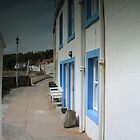 Pretty sea side houses by weecoughimages