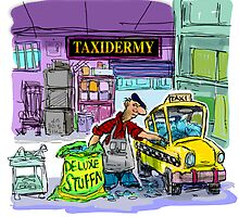 A Special Taxidermist Service by Londons Times Cartoons by Rick  London