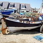 Coble WY.62. Cullercoats Nr Tynemouth by Woodie