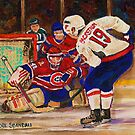 BACKSTROM SHOOTING ON HALAK by Carole  Spandau