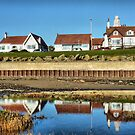 Fairhaven near Blackpool.  by Lilian Marshall