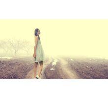 Just Walk Away... Photographic Print