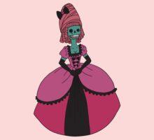 Fancy Skull Lady by Angel Szafranko