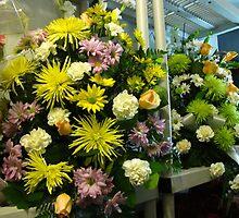 Flower Garlands by MarianBendeth