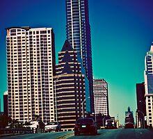 Austin Texas Skyline by Julia Goss