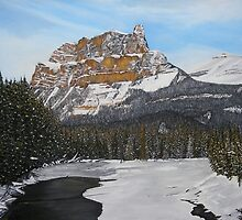 Castle Mountain by rachelle kehler