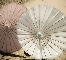 Vintage Paper Parasols by Denice Breaux