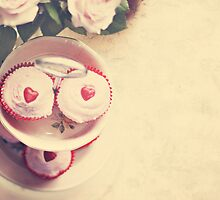 Cupcakes and Hearts by k8tography