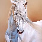 Andalusian stallion by Elena Kolotusha