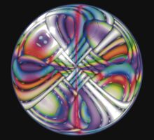 Rainbow Dreams .. a crystal ball by LoneAngel