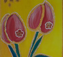 Tacky Tulips by Devi Amanullah