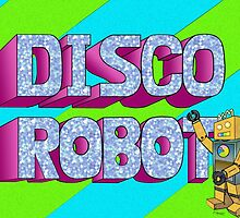 Disco Robot by DarkRubyMoon