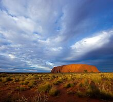 Ayers Rock Sunset by Sam Tabone