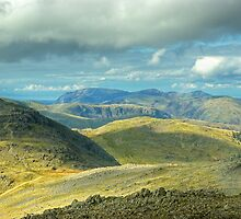 Bowfell... North-West Views by VoluntaryRanger