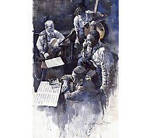 Jazz Parker Tristano Bauer Safransky RCA studio NY 1949 Photographic Print