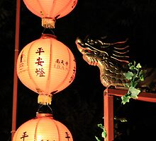Safety Lantern by Fo Guang Shan @ Chinese pre-New Year Festival, Australia by YangsCreation