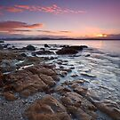 Taroona Beach Sunrise #6 by Chris Cobern