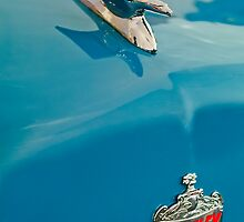 "1952 Crosley Super ""Flying Bird"" Hood Ornament by Jill Reger"